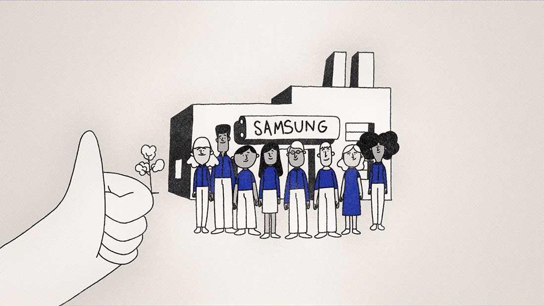 Samsung Moon Felix Massie 2D animation