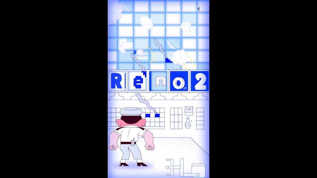 OPPO Security Haein Kim & Paul Rhodes Mighty Nice animation