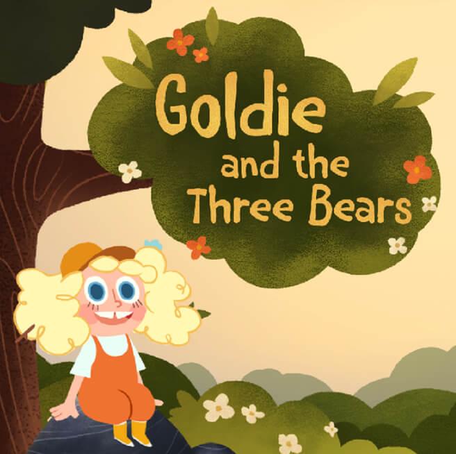 Nexus Studios Goldie Three Bears Facebook Portal StoryTime