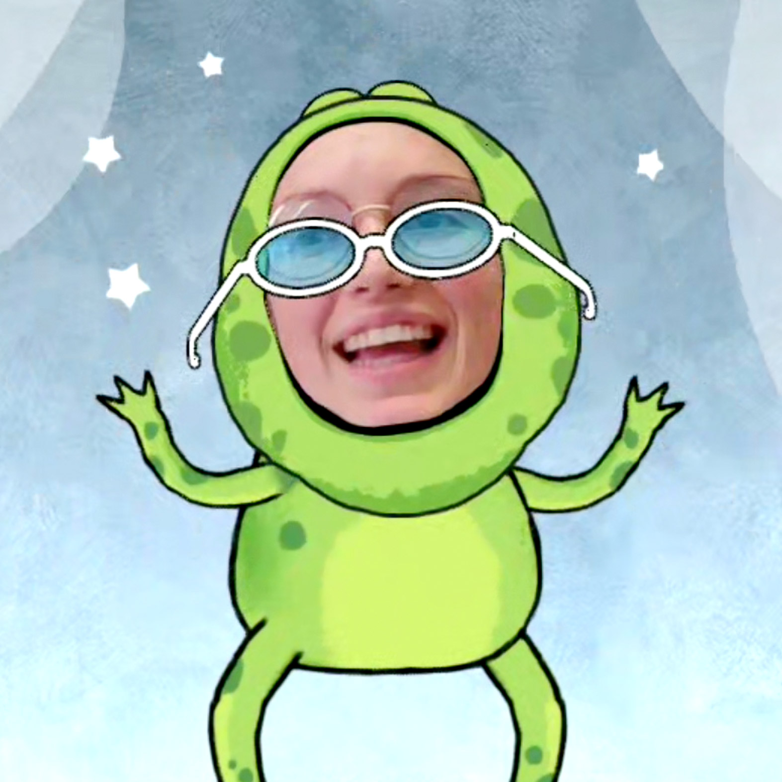 Nexus Studios Portal Storytime Frog AR Mask