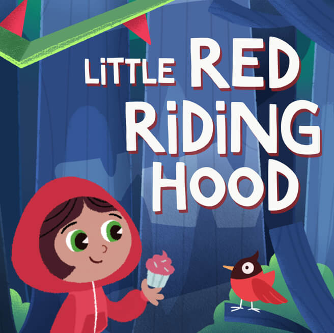 Nexus Studios Little Red Riding Hood Facebook Portal StoryTime